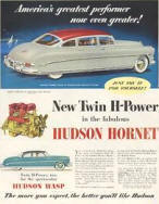 Hudson Wasp / Hornet Advertisement