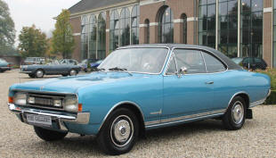 1967 - 1971 Opel Commodore GS Coupe