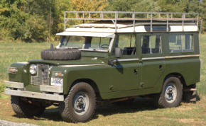 1961 - 1971 Land Rover 109 Series IIA