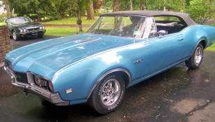 1968 Oldsmobile F85 442 Convertible