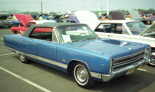 1968 Plymouth Fury VIP Hardtop Sedan