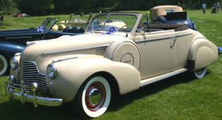 Buick 46C Special Convertible Coupe  1940