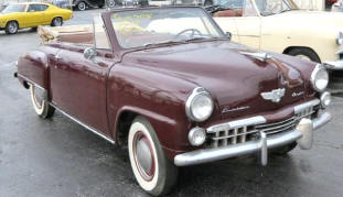 1948 Studebaker Champion Convertible