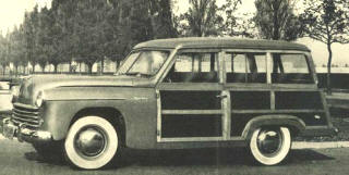 1949 - 1952 Keller Station Wagon