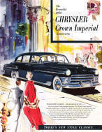 Chrysler Crown Imperial Advertising Poster