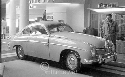 Borgward Hansa 1500 Coupe  1954