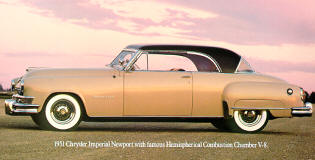 1951 Chrysler New Yorker Newport Coupe