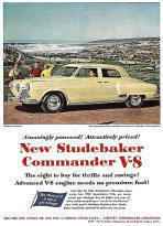 Studebaker Commander Advertising Poster