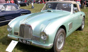 Aston Martin DB2 Convertible  1950 - 53