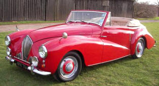 1951 - 1954 Healey 2.4 Abbott Drophead Coupe