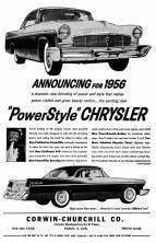 1956 Chrysler Advertisement
