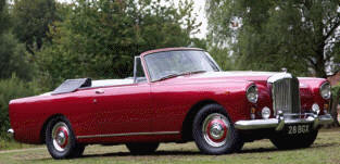 Bentley S2 Continental DHC Park Ward  1959 - 62