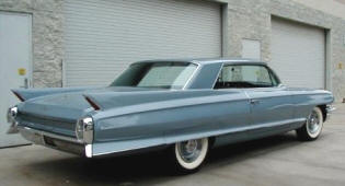 Cadillac 62 Coupe Hardtop  1962