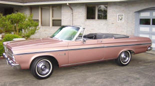 1965 Plymouth Belvedere II Convertible