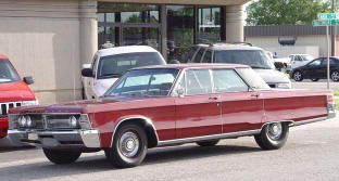 1967 Chrysler New Yorker Hardtop Sedan