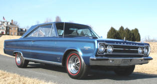 1967 Plymouth GTX Coupe Hardtop