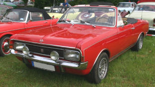 1967 - 1971 Opel Commodore Cabriolet