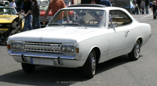 1967 - 1971 Opel Commodore Coupe