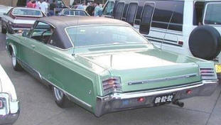 1967 Chrysler Newport Custom Hardtop
