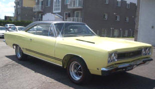 1968 Plymouth Belvedere Coupe