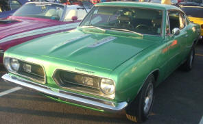 1967 Plymouth Barracuda Hardtop Coupe