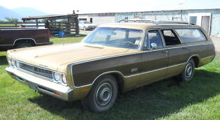 1969 Plymouth Fury Wagon