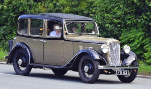 Austin Light 12/6 Ascot Saloon  1935 - 36