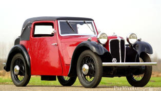 1932 Swallow SSII Coupe