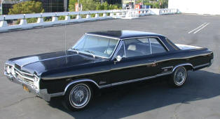 1965 Oldsmobile F85 Cutlass Holiday Coupe