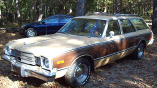 1977 Plymouth Volare Station Wagon