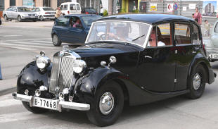 1946 - 1948 Triumph 1800 Town & Country