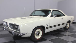 1968 Plymouth Barracuda Hardtop