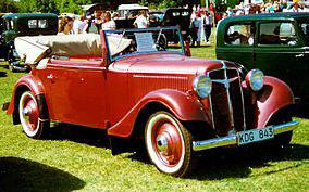 Adler Trumph Junior Sport 1935 - 37