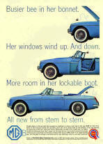 Original MGB Advertisement