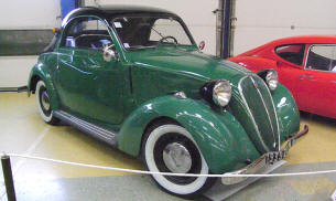 1939 Simca 8 Coupe