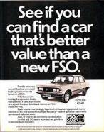 FSO Cars Ad Poster