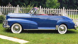 1946 Chevrolet Fleetmaster Convertible Coupe