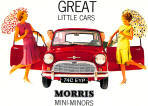 Morris Mini Advertising Poster