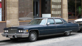 Cadillac Fleetwood 60 Special Brougham  1973