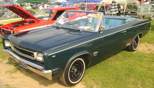 1967 Rambler Rebel SST Convertible