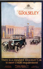 Wolseley Advertising Poster