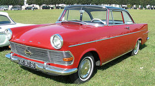 1961 - 1963 Opel Rekord Coupe
