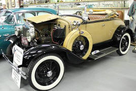 1928 - 1932 Ford Model A Convertible