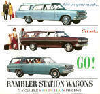 Rambler Station Wagon Advertisement