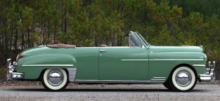 1950 DeSoto Custom Convertible Coupe