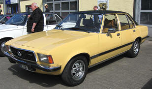 1972 - 1977 Opel Commodore B