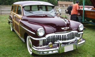 1949 DeSoto Diplomat Custom Station Wagon
