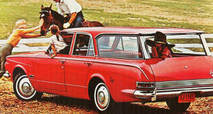 1963 Plymouth Signet 200 Station Wagon