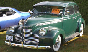 1940 Chevrolet Deluxe Touring Coach