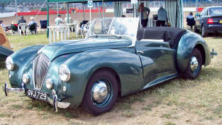 1947 - 1952 Healey Abbott Drophead Coupe